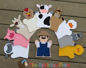 Farm Finger Puppets *Set of 10