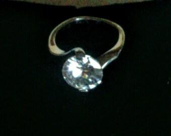 Fantastic Faux Diamond Ring!!!