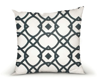 CLEARANCE, Pillow cover, decorative cushions in Geo Black and White fabrics, several sizes