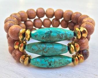 Bayong & Turqoise Bracelet