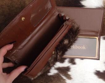 Beaver fur wallet