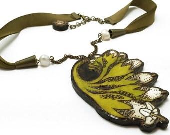 Comfrey Necklace - Handmade & Eco-friendly