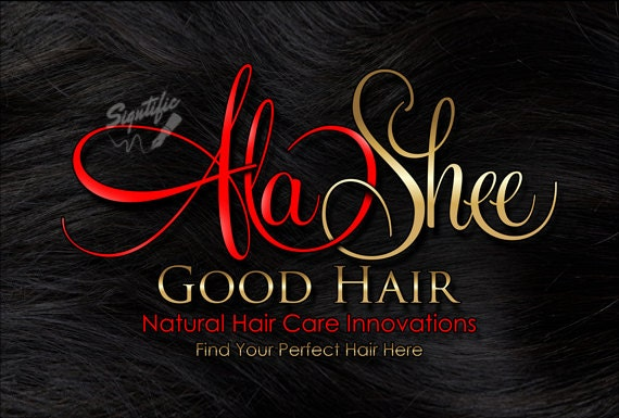Natural Hair logo design, Hair Extensions Logo, Hair Business Logo, Hair Tag Logo, Hang Tag Logo Design, Logo on Hair Texture, Gold and Red