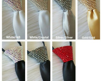 Men's Swarovski Tie [Solid]
