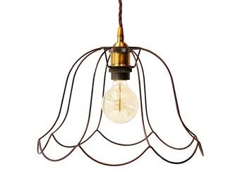 Industrial Vintage Pendant cage Light Victorian Lampshade Modern Lighting Minimalist Lamp Geometric Light Ceiling Chandelier Home Decor