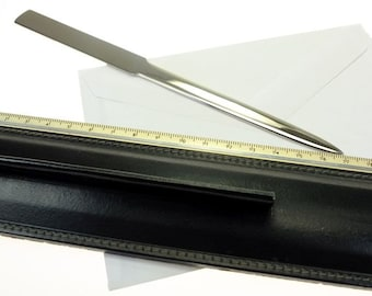 Letter opener with ruler office supplies