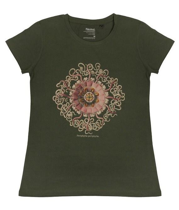 Organic Fair Trade T Shirt Jellyfish