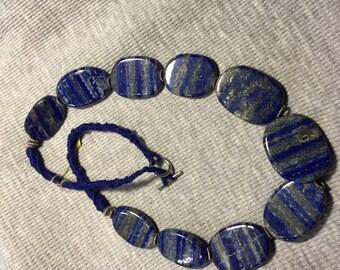Genuine Lapis Beaded necklace