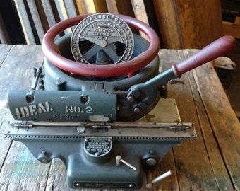Mid Century Stencil Machine