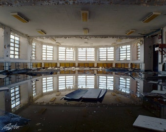 Hudson River State Hospital, Poughkeepsie, New York, Abandoned, Eerie, Inspirational, Wide Angle