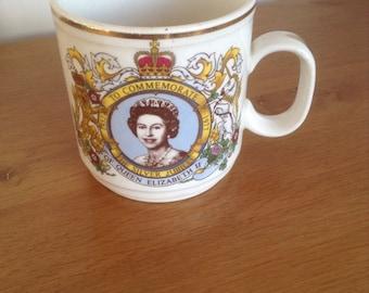 Queen Elizabeth ll Silver Jubilee 1977 mug