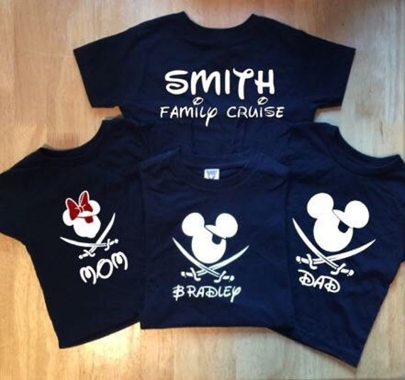Disney cruise shirts disney vacation by pinkstarcustomdesign for Cheapest place to make custom t shirts