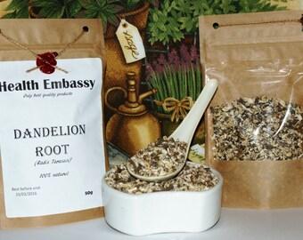 Dandelion Root 50g (Radix Taraxaci) - Health Embassy