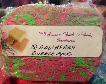 Strawberry Fields Forever Bubble Bar