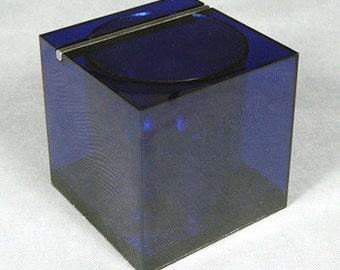 Rare - Cini&Nils lucite ice bucket - Blue