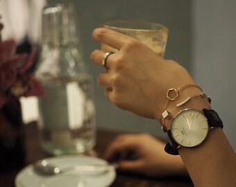 Bracelet: Ice Cubes Bracelet  (Square x Polygon) - B025