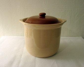 Shenango China > Covered Bean Pot