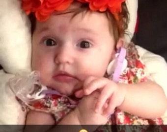 Flower Headband. Elegant, Simple, Fashionist, Baby Headband, Chic