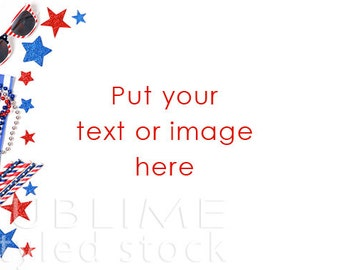 4th of July Styled Stock / Patriotic Photo / Fourth of July Background / America / Stock Photo / Red White and Blue / StockStyle-542