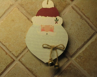 Santa Hanger, Santa Decor, Santa Face