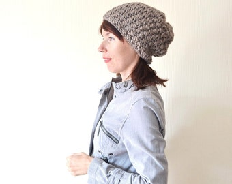 chunky hat,outdoors gift|for|her,winter hat,slouchy beanie,birthday gift-for-wife,womens hats,chunky beanie,crochet beanie,crochet hat