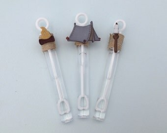 Camping Party Favor: Camp Out Party Favor, S'mores party favor, Campfire Party