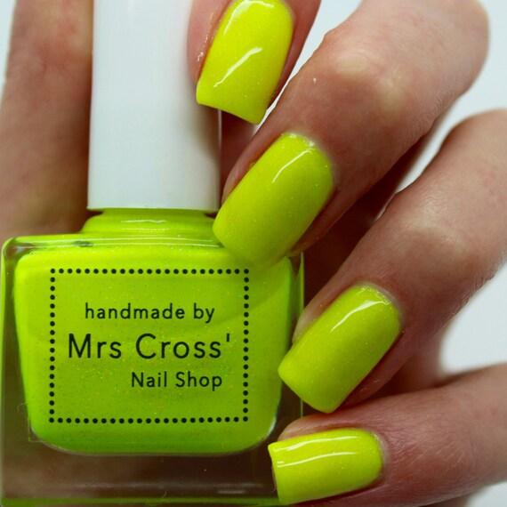 Bright Yellow Neon Nail Polish