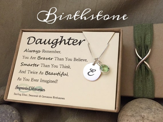 Special Graduation Gifts From Mother To Daughter : Gift for DAUGHTER gift - Graduation Gift for Her - Sterling Silver ...