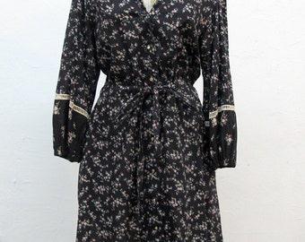 Vintage 1970s Gunne Sax Calico Prairie Dress by Jessica San Francisco
