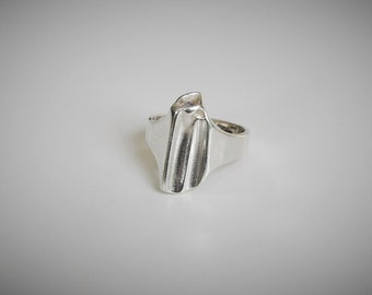 Lapponia Björn Weckström Sterling Silver Ring Finland Scandinavian Jewelry