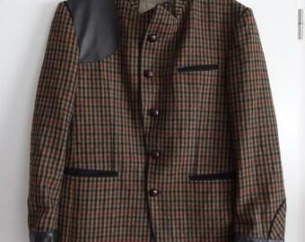 Veste homme a carreaux HIRMER en laine taille XL