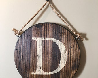 Family Letter - Wall Hanging