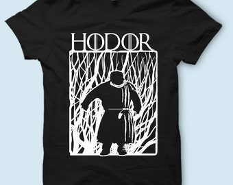Game of Thrones - Hodor, Hold the Door T Shirt