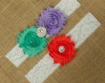 Wedding Garter, Bridal Garter Belt, Bridal Garter Set, Garter Set, Toss Garter, Keepsake Garter, Garter Belt, Wedding Garter Belt, SCW3-21
