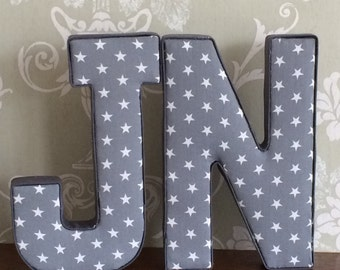 Bedroom Decor Letters fabric letters | etsy