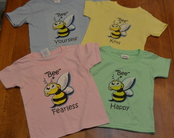 Adorable Infant/Toddler Bee Fearless T-Shirt