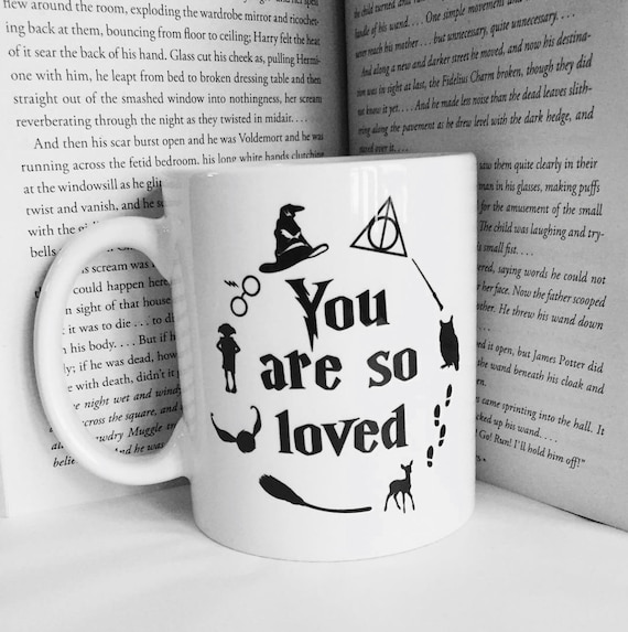 HARRY POTTER | You are so loved | Harry Potter Mug | 11 oz.