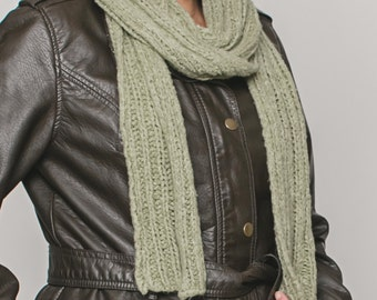 Knitted scarf woman man various colors