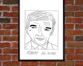 Badly Drawn Robert De Niro - Poster