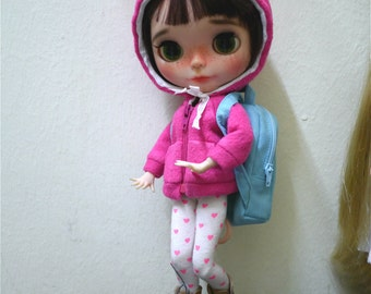 Cute backpack for Blythe