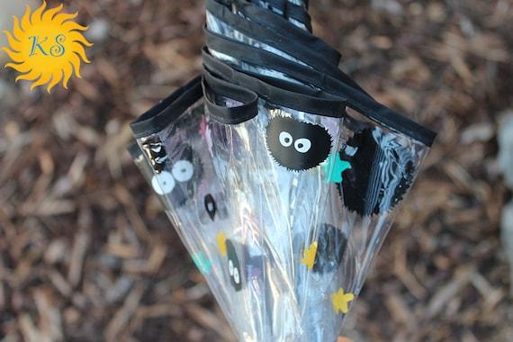 Soot Sprite Vinyl Custom Cut Bubble Umbrella