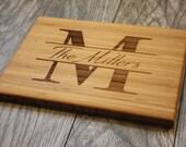 Personalized Cutting Board, Wedding Gift, Personalized Wedding Gift, Engraved Cutting Board, Personalized Gift, Personalized Cheese Board