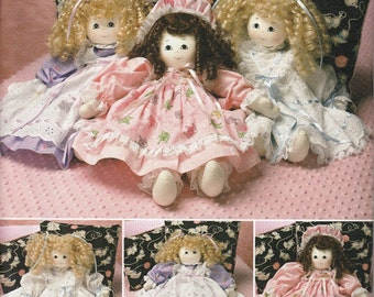 """21"""" Stuffed Doll & Clothes Sewing Pattern, Doll Sewing Pattern,Home Decor Sewing Pattern, Doll Clothes, Uncut Sewing Pattern,Simplicity 2462"""