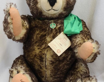 "Rare 30"" Hermann Old Max Mohair Teddy Bear LTD ED No. 007 of 500"