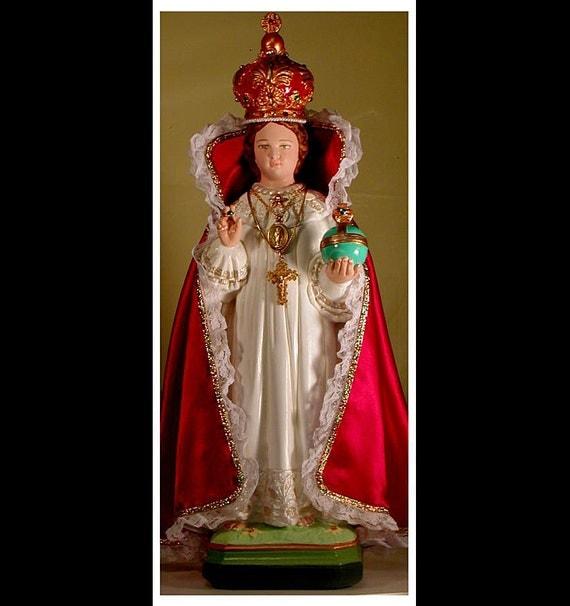 "Infant of Prague 18"" Jesus Catholic Christian Religious Plaster Saint Statue"