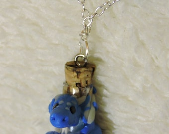Ocean Wyvern necklace