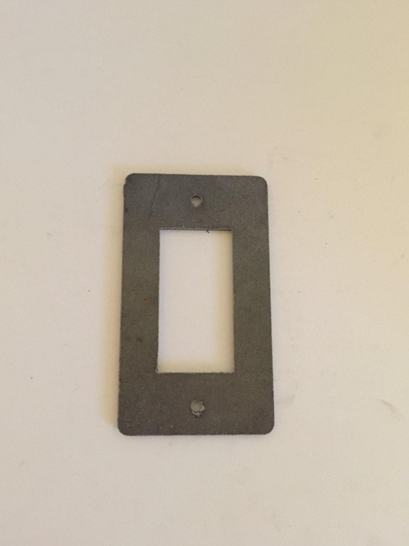 Steel Light Switch Cover Rocker Dimmer Light Switch