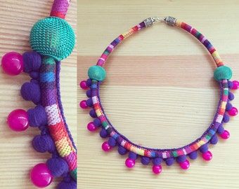 Necklace ethnic boho.