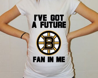 Boston Bruins Baby Boston Bruins Baby Boy Baby Girl Maternity Shirt Maternity Clothing Pregnancy New Baby Shower