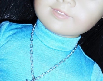 Curious Cat Necklace for American Girl Dolls